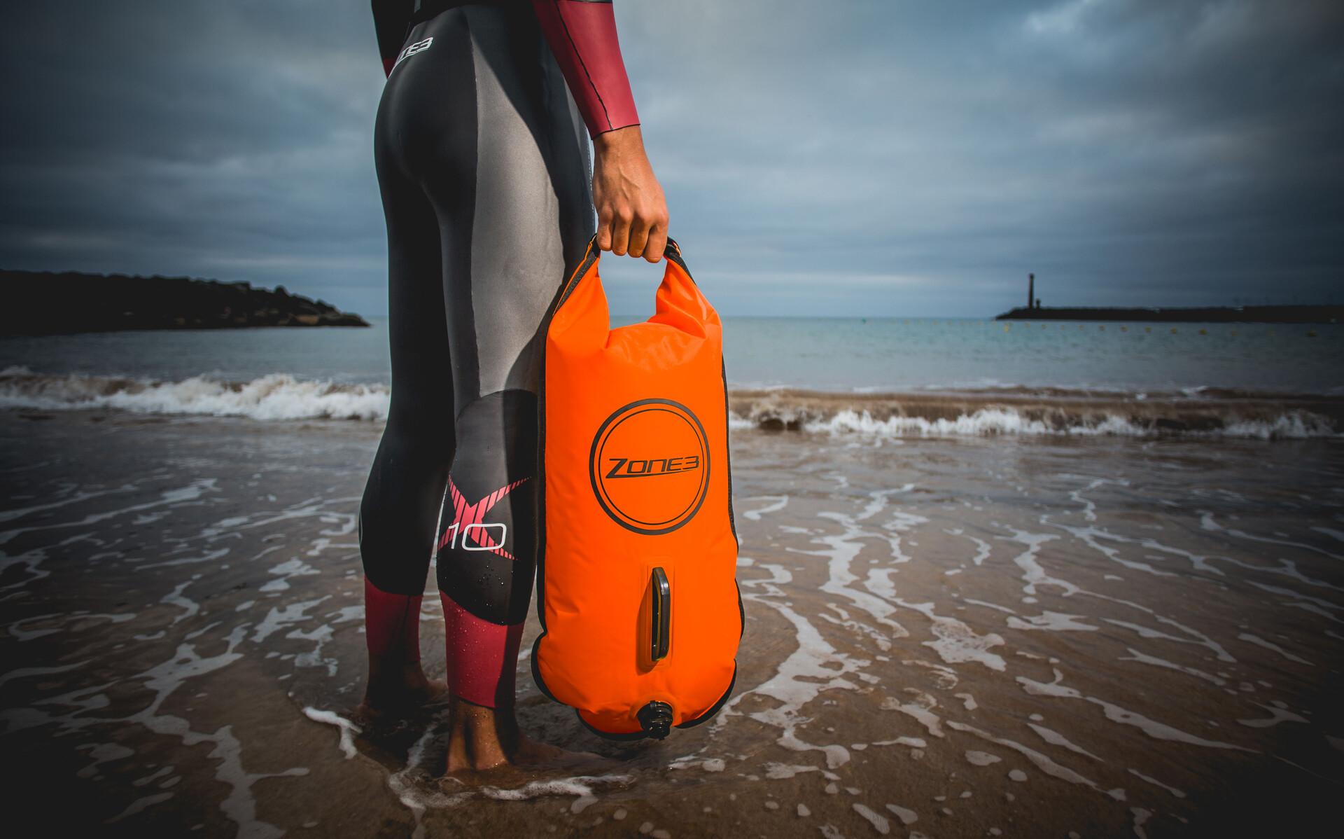 Dry 28lOrange Safety Bag Zone3 Swim Buoy WEDe92HIY